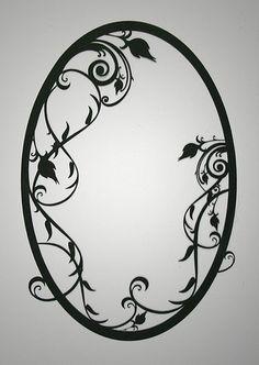 filigree oval