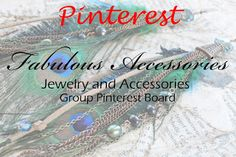 This is the SIGNUP SHEET for group board: Fabulous Accessories #1) Fabulous Accessories Group Board. #2) Follow my profile (www.pinterest.com/adrienneadelle1). #3) Leave a message/comment ON THIS PIN. I will send you an invite to the board. Please follow all board rules and Happy Pinning to All!