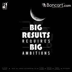 Big Results requires big ambitions