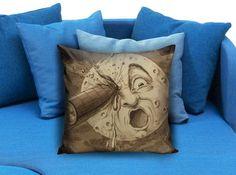 A Trip To The Moon Big Pillow case #pillow #case #pillowcase #custompillow #custom