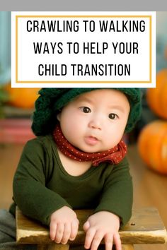 Excellent tips to help you at this new milestone when your baby is transitioning from crawling to walking! What an exciting time for both of you!