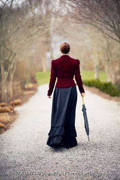 Trevillion Images - victorian-woman-from-behind