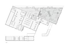 Automotive Showroom in Herning,Floor Plan