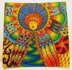Olha só o trabalho lindo que a gente achou: http://www.tanglebrasil.blogspot.com.br/search/label/Stabilo%20Pens#axzz2gO8RccoN Um anjo todo colorido com canetas Stabilo. Pura arte!