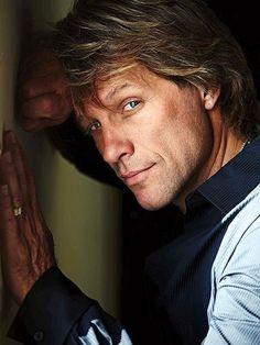 Jon Bon Jovi, still gorgeous after all these years.