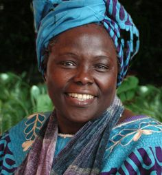 Today we honor Wangari Maathai, who became the first African woman to receive a Nobel Peace Prize in 2004 for her contribution to sustainable development, democracy, and peace as the founder of the Green Belt Movement.
