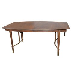 Stunning Bert England For Johnson Brothers Dining RoomTable | From a unique collection of antique and modern dining room tables at http://www.1stdibs.com/furniture/tables/dining-room-tables/