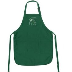 Michigan State University Apron NCAA College Logo MSU Spartans Logo TOP RATED for Grilling, Barbecue, Kitchen and Cooking Best Unique Gifts for a Man, Men, HIM HER Women, Ladies. GIFT IDEA! (Misc.)  http://www.99homedecors.com/decors.php?p=B004WXK0TC  B004WXK0TC