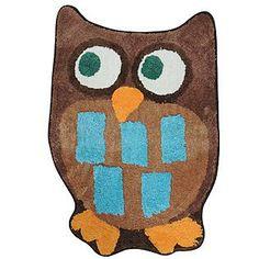 Owl Garden Bath Rug Pinned by www.myowlbarn.com