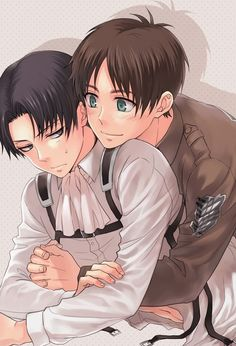 Attack on Titan - Eren & Levi - SHIP IT!!!