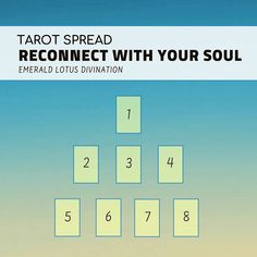 Reconnecting with your soul doesn't have to be a huge production. It doesn't have to be a life changing experience or a Tower card moment. It can happen in small moments – moments of mindfulness, stillness, bliss, passion Link in bio for 4 ways to reconnect with your soul & to view the tarot spread as a whole image ☺️ Blessings xoxo