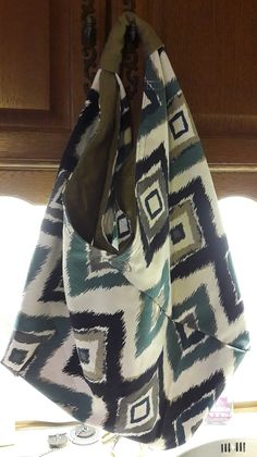 Origami Tote Bag, Sewing Tutorials, Looks Great, Fashion Accessories, Shoulder Bag, Handbags, Craft, Projects, Log Projects