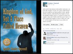 A must-read! commented those who read the book! you can stay knowledgeably ahead by also reading it. The Kingdom Of God, Book Title, The Book, Heaven, Names, Author, Reading, Books, Life