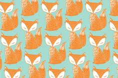 fox background vector by lyeyee on @creativemarket