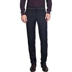 LANVIN  Contrast Waistwelt Trouser