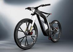 2500ccエンジン級の大トルクでウィリー可能! Audiが放つ超ド級電動自転車「Audi e-bike Worthersee」 « GQ JAPAN