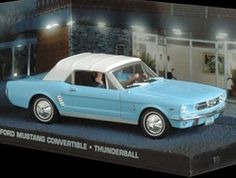 Ex Mag Ford Mustang Convertible (1964) Diecast Model Car from James Bond Thunderball Ford Mustang Convertible (1964) from James Bond (1:43 scale by Ex Mag DY030) This Ford Mustang Convertible (1964) Diecast Model Car from James Bond Thunderball features w (Barcode EAN = 5055414530808) http://www.comparestoreprices.co.uk/december-2016-6/ex-mag-ford-mustang-convertible-1964-diecast-model-car-from-james-bond-thunderball.asp