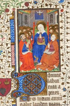 Pentecost   Book of Hours   France   ca. 1420-1430    The Morgan Library & Museum