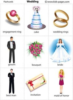Forum | ________ Learn English | Fluent LandWedding Vocabulary | Fluent Land