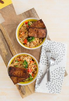 Recipe | Peanutty Quinoa Bowls for Two   How To Make Your Own Baked Tofu