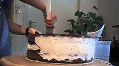 Como rellenar y cubrir una torta con butter cream