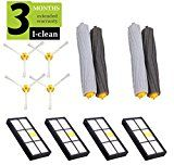 I-clean Replacement Parts for iRobot Roomba 860 880 805 860 980 960 Vacuums, with Filter, Brush, Debris Extractor These Vacuum Cleaner Vacuum Cleaner Accessories, Brand Names And Logos, Blue Garden, Amazon Home, Me Clean, 2 Set, Filters, Kids Rugs, Cleaning