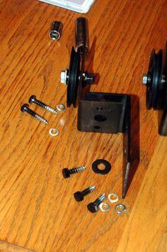 diy door hardware for sliding barn door