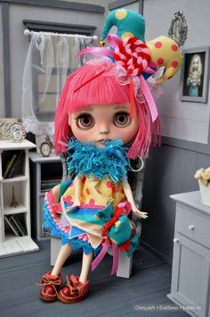Яркая Блайз, кошечка от Юлии Тарасовой и Сарина от Nefer Kane на десерт / Другие коллекционные куклы / Бэйбики. Куклы фото. Одежда для кукол