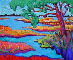 """High Tide"" Claudia Hartley http://www.artmeccaofcharleston.com/ http://hartleyart.com/"