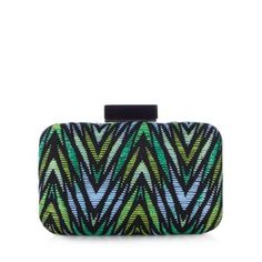 Star by Julien Macdonald Designer green aztec straw bag- at Debenhams.com