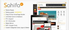 Sahifa Wordpress Theme v4.1.1 nulled theme