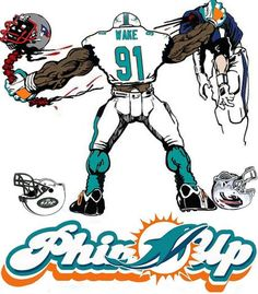Miami Dolphins 1 by Wonderstache on Etsy Miami Dolphins Memes, Nfl Miami Dolphins, Raiders Football, Nfl Football, Football Stuff, American Football, New Nfl Helmets, Dolphin Quotes, Florida Gators Football