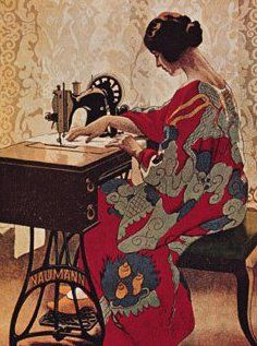 I learned to sew on my mother's ornate Singer treadle.