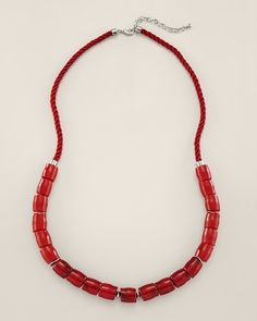 Chico's Chapin Long Necklace #chicos