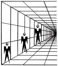3 men optical illusion