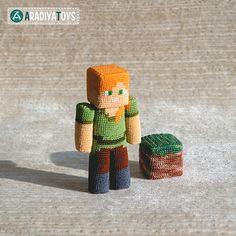 """Ravelry: Alex from """"Minecraft"""" pattern by Olka Novytska"""