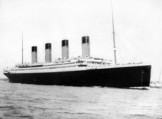 RMS Titanic departing Southampton on April 10, 1912 ~ British passenger liner that sank in the North Atlantic Ocean on 15 April 1912 after colliding with an iceberg during her maiden voyage from Southampton, UK to New York City, US. The sinking of Titanic caused the deaths of 1,502 people in one of the deadliest peacetime maritime disasters in modern history. The RMS Titanic was the largest ship afloat at the time of her maiden voyage. #Titanic