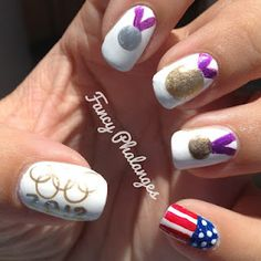 Fancy Phalanges: Summer Challenge: Olympic Medals