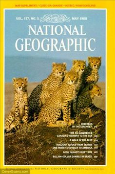 1980 - 05 - May / National Geographic Photography / Covers