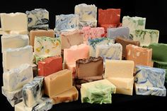 Cold process soaps, by 2012 Circle Craft Christmas Market exhibitor, Smell the… Circle Crafts, Provence France, Glycerin Soap, Lip Balms, Cold Process Soap, Home Made Soap, Body Products, Bath Bombs, Soap Making
