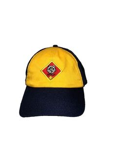 BOY SCOUTS CUB SCOUTS OF AMERICA · Wolf Cub Scout Webelos Baseball Cap Hat  Adjustable Medium Large M L  Unbranded   a6957348741f