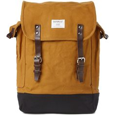 A prime example of the Sandqvist approach, the Bob Backpack is constructed from their 18oz cotton canvas. END.