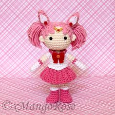 Ravelry: Sailor Chibi Mini Moon Amigurumi Doll pattern by Wendy Korz