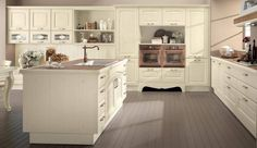 Decapé ash kitchen with handles Claudia Collection by Cucine Lube ...