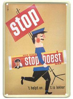 Stophoest 20x30 | Blikken borden 20x30 | www.19toen.nl