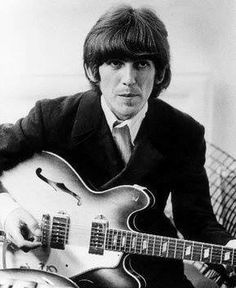 George on guitar
