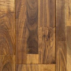 """Prairie Acacia, from our Reclamation Plank Collection by Heritage Woodcraft is a hand-scraped (7-7/8"""") wide-plank solid acacia hardwood flooring."""