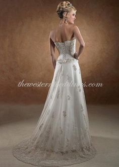 1000 Images About Western Wedding Dresses On Pinterest