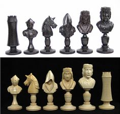 image Jeux d'échecs Chess Pieces, Game Pieces, How To Play Chess, Chess Boards, Chess Table, Art Through The Ages, Go Game, Chess Players, Visual Aids