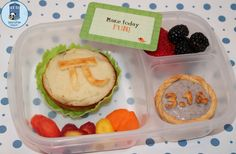 Bento for Kidlet: Pi Day lunchbox